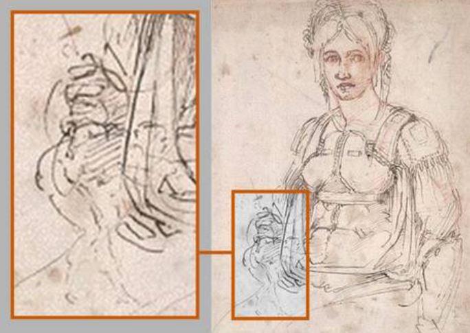 Michelangelo era mancino, la scoperta in un autoritratto