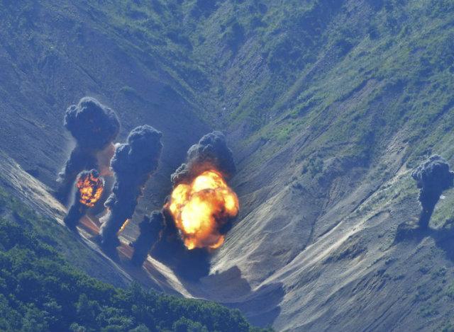 Test nucleare nordcoreano ha spostato il monte Mentap di tre metri