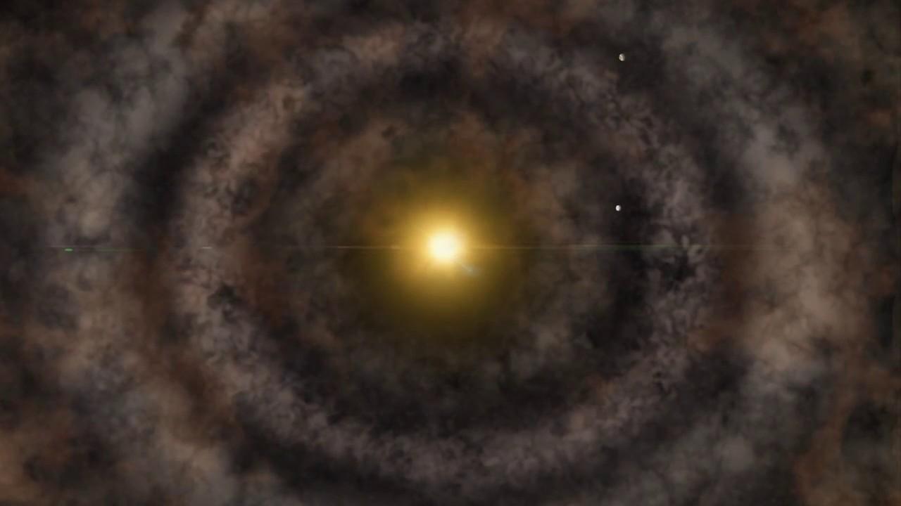 Scoperti e osservati i tre pianeti più giovani della Via Lattea