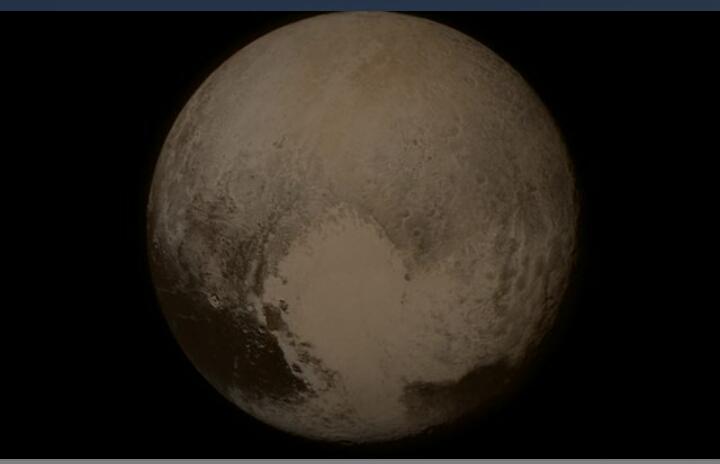 Plutone ha dune di granelli di metano