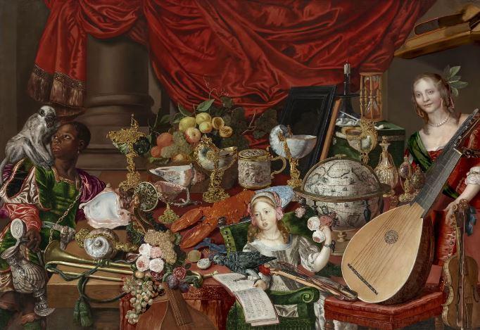 Scoperta l'immagine di una donna nascosta in un dipinto del XVII secolo