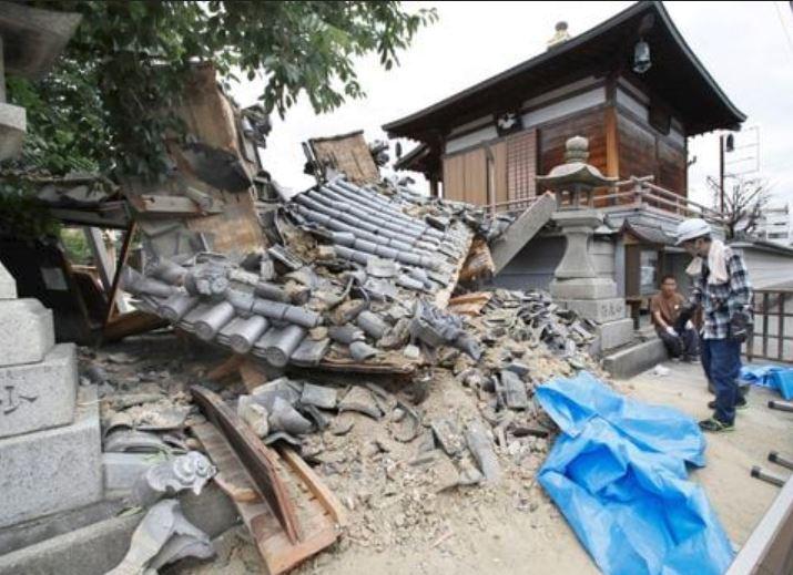 Terremoto Giappone M 6.1, scossa tra Kyoto e Osaka. 3 morti e 200 feriti