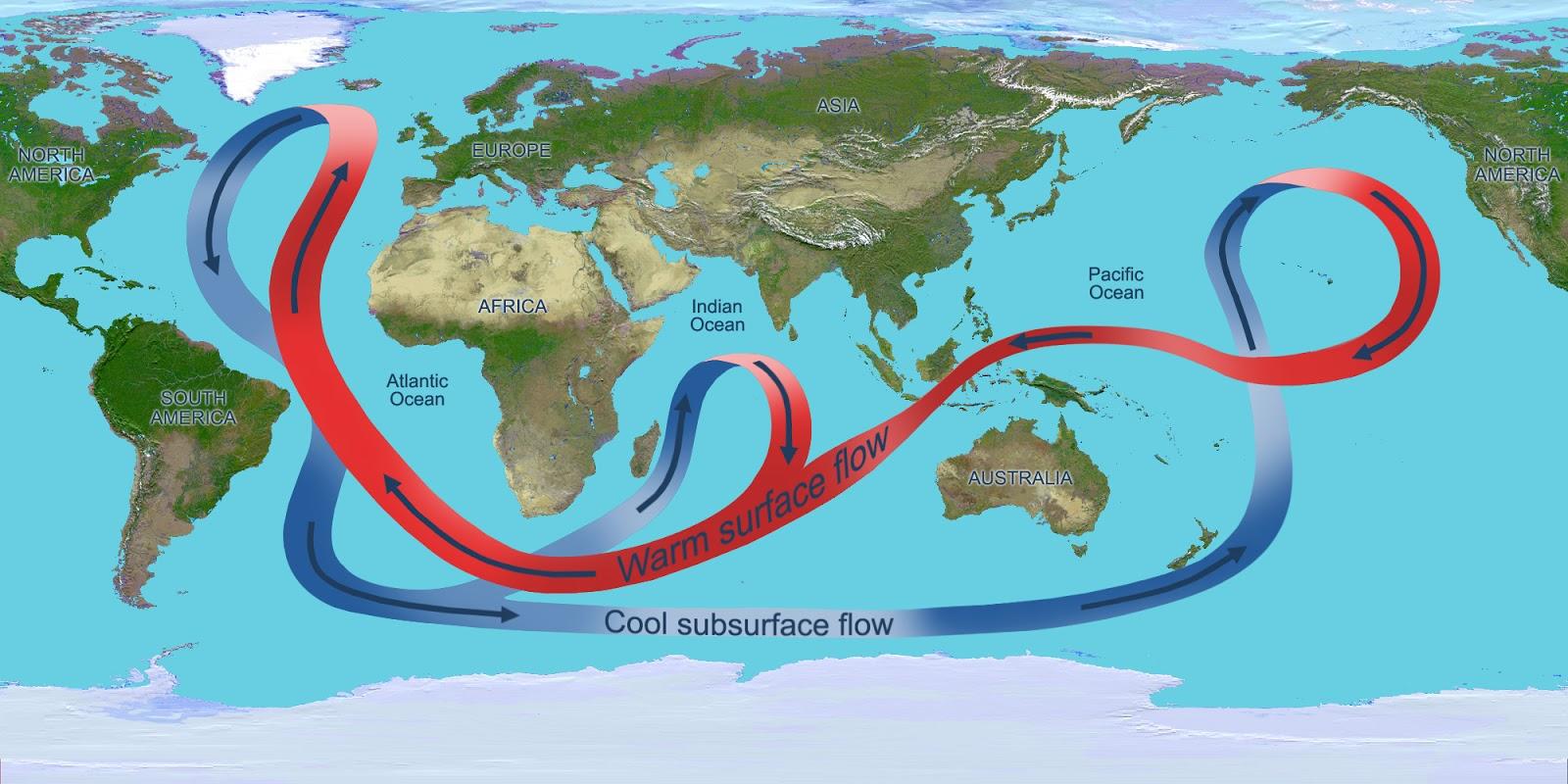 Clima: crolla la Circolazione Atlantica, ecco gli effetti sul clima