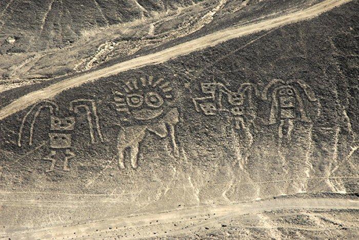 Linee di Nazca: emergono nuove misteriosi disegni