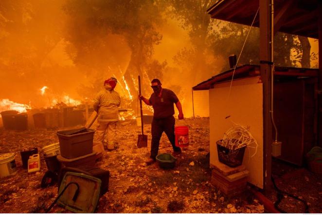 Incendio California, è il più grande di sempre