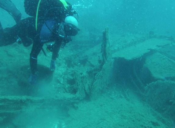 Pago: scoperto relitto di una nave di epoca romana