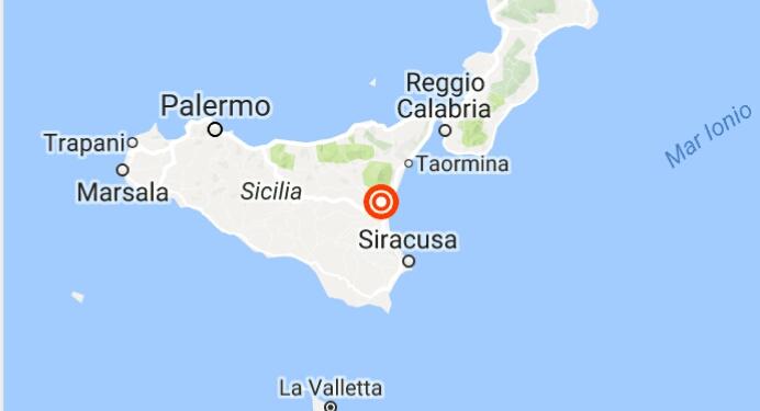 Terremoto Sicilia, forte scossa alle pendici dell'Etna