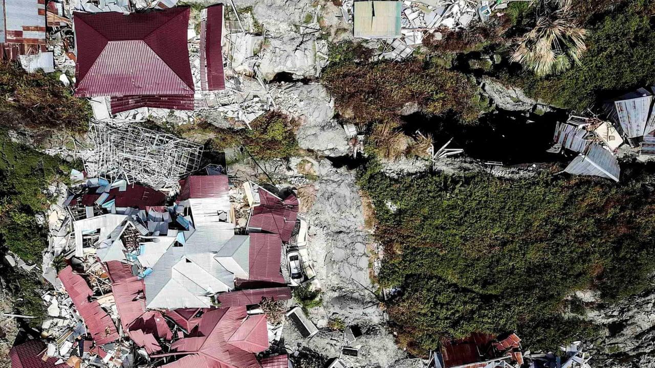 Terremoto Indonesia: la liquefazione del terreno ingoia città