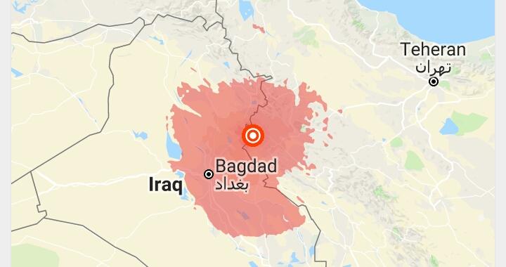 Terremoto Iraq, potente scossa colpisce Baghdad