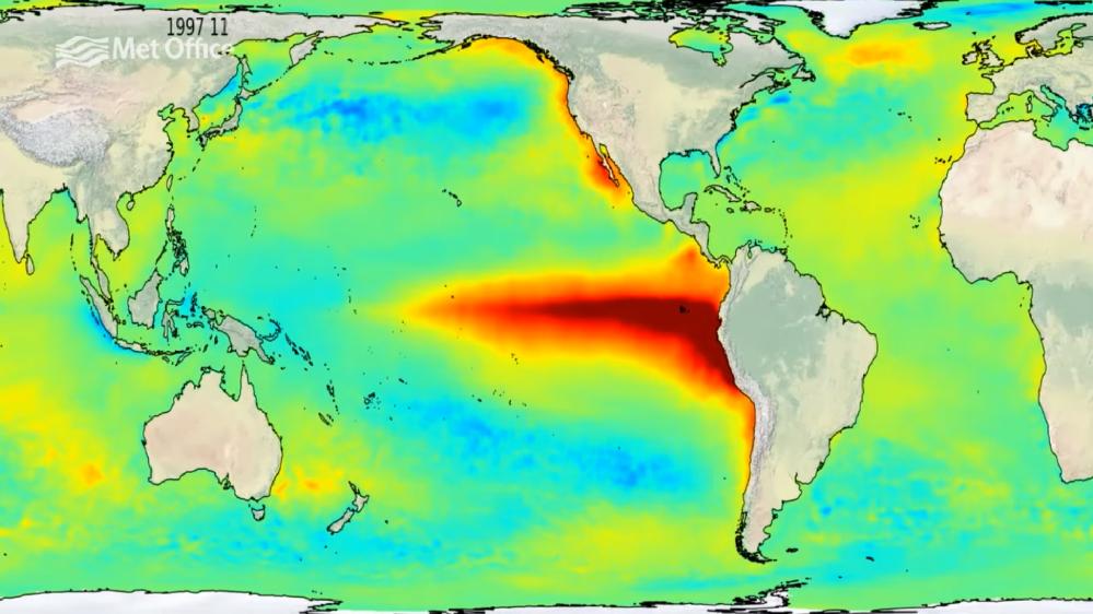 El Niño sta per tornare: crescono le temperature nell'Oceano Pacifico