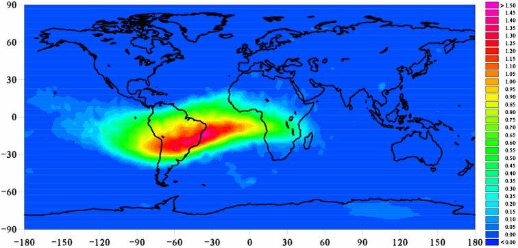 L'Anomalia del Sud Atlantico continua a crescere: ancora nessuna spiegazione