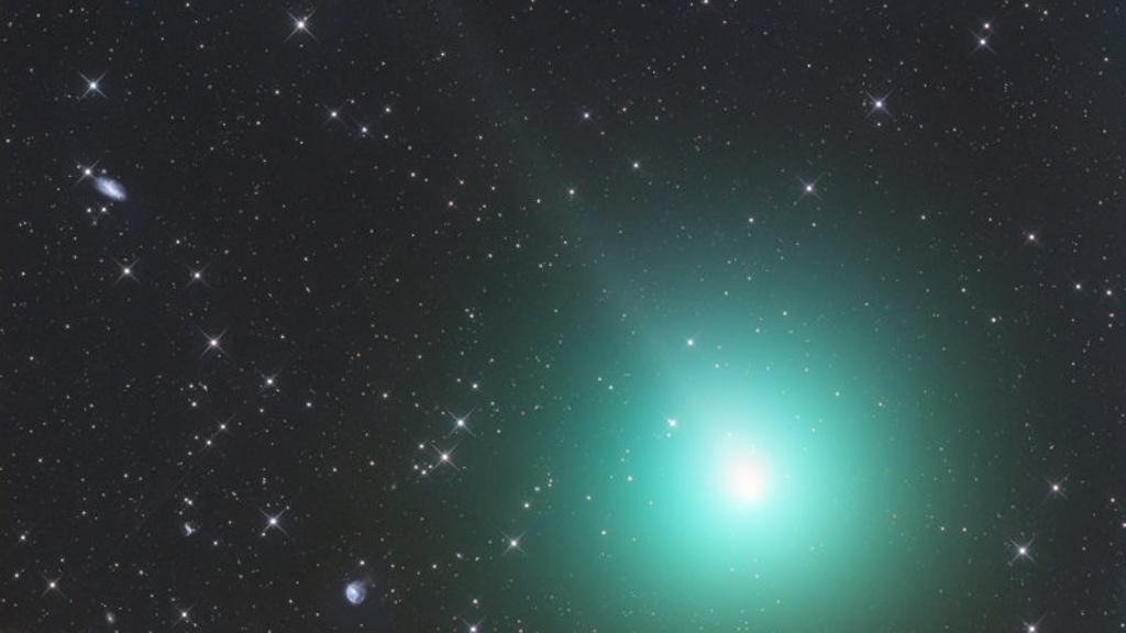 Cometa di Natale: presto sarà grande come la Luna piena