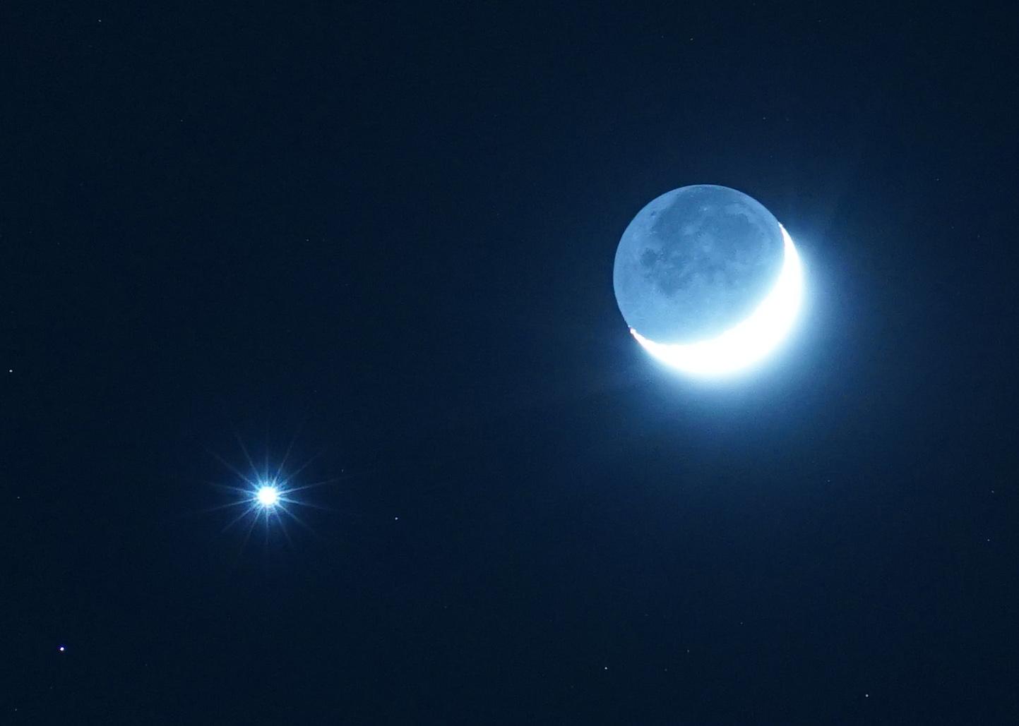 Luna, Venere e le stelle della Vergine: in arrivo spettacolari congiunzioni