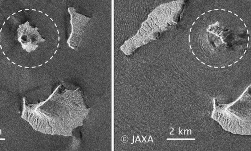Eruzione Anak Krakatau, l'isola ha perso due terzi del suo volume