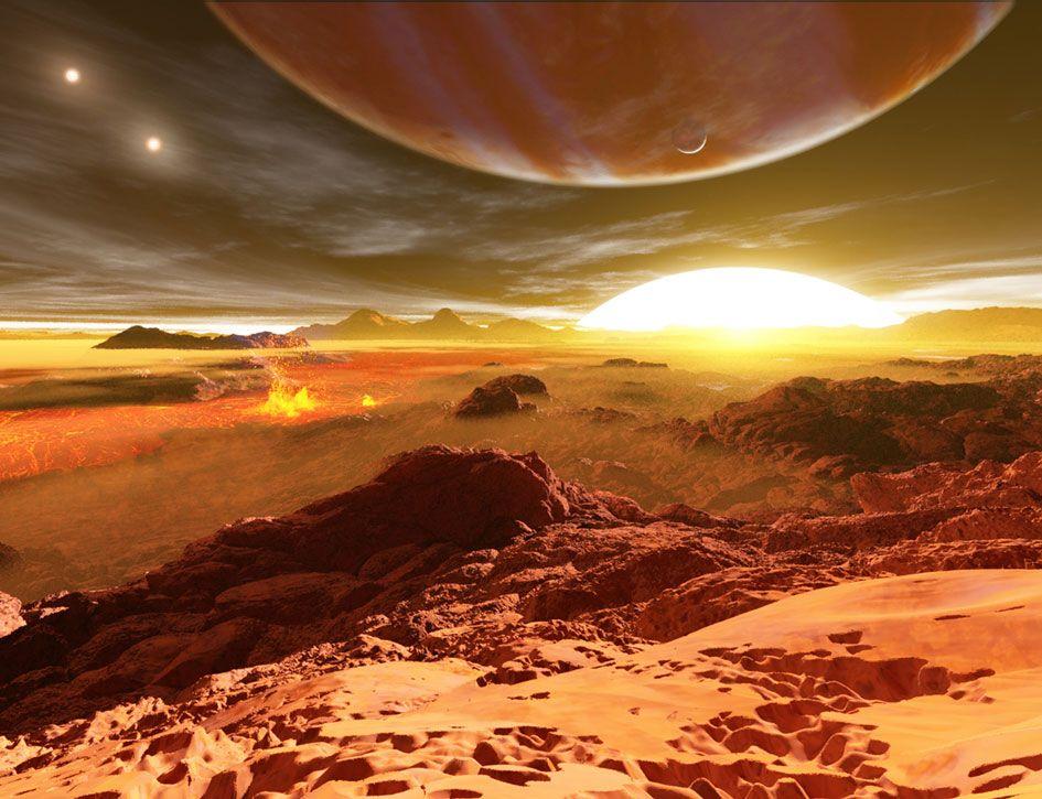 Spazio: i pianeti con due stelle potrebbero avere lune adatte alla vita