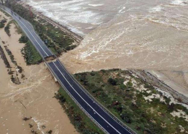 Maltempo: 55 km di ponti della Sardegna a rischio alluvione