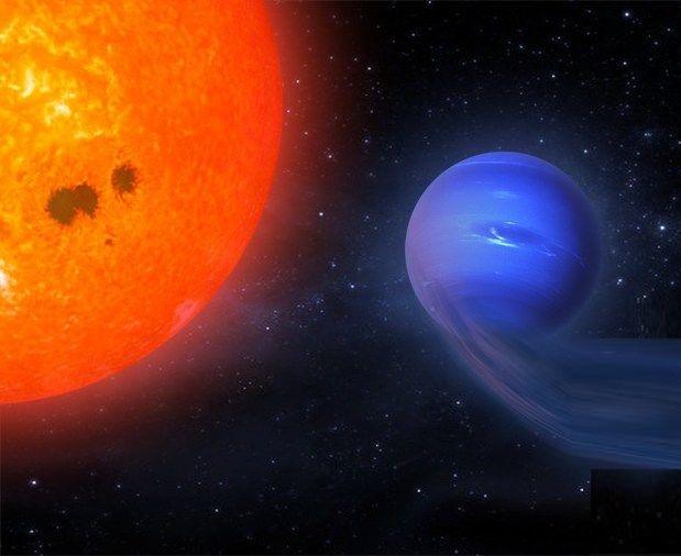 Spazio: scoperto un pianeta che si restringe