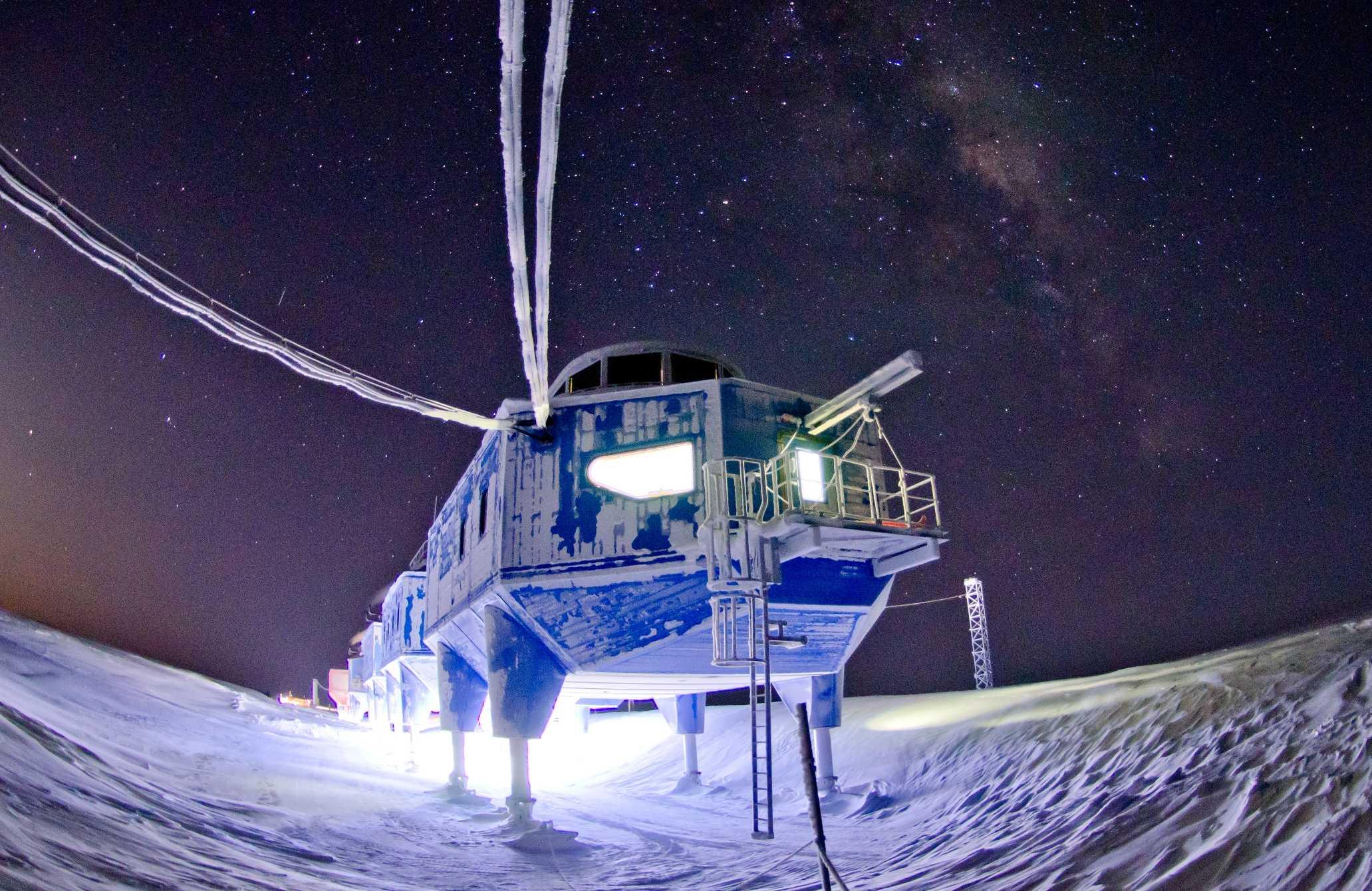 Antartide: registrati 'suoni spaziali' dalla Stazione Halley