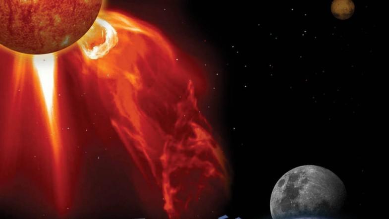 Sole: espulsione di massa coronale, in arrivo tempesta geomagnetica