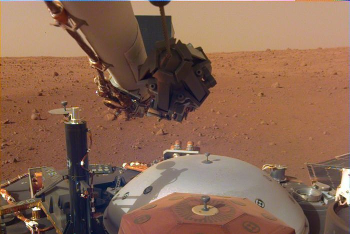 Marte: registrato il suono del vento sul pianeta rosso