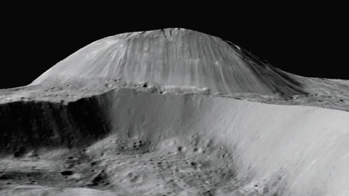 Spazio: su Cerere scoperti vulcani che eruttano una sostanza unica