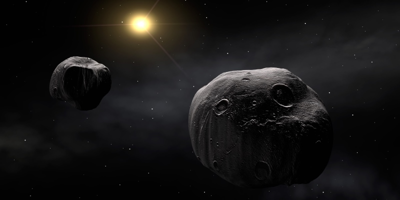 Asteroide con luna ha sfiorato la Terra