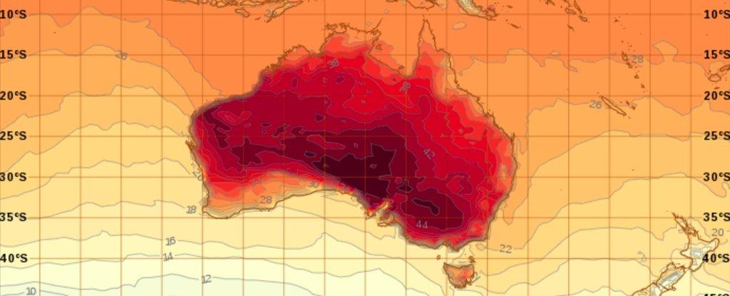 Caldo record in Australia: temperature asfissianti in tutto il paese