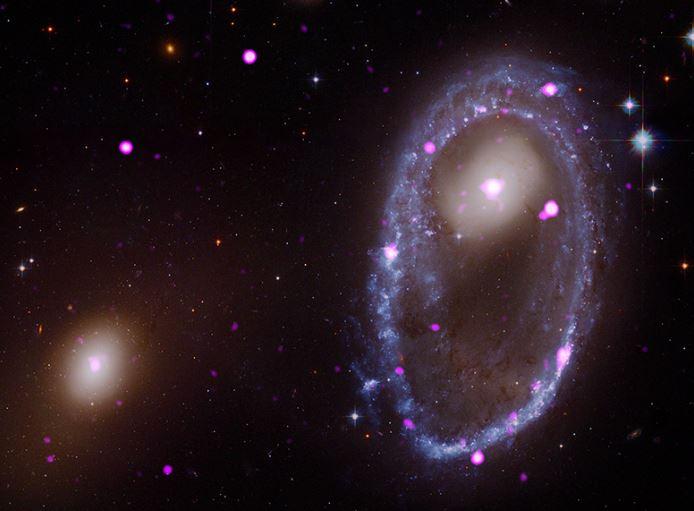 """Buchi neri supermassicci circondati da un anello """"galattico"""""""