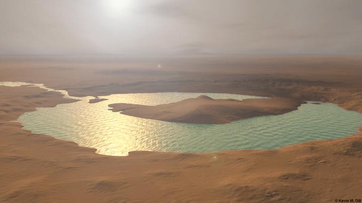 Marte: scoperti 24 laghi di acqua, 5 ospitali per antiche forme di vita