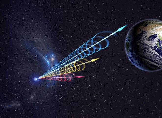 Lampi radio veloci: registrati due segnali che si ripetono