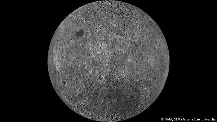 Luna: enorme massa metallica scoperta al Polo Sud