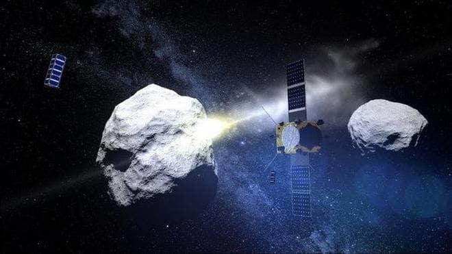 La Nasa pronta a deviare gli asteroidi diretti verso la Terra, il progetto