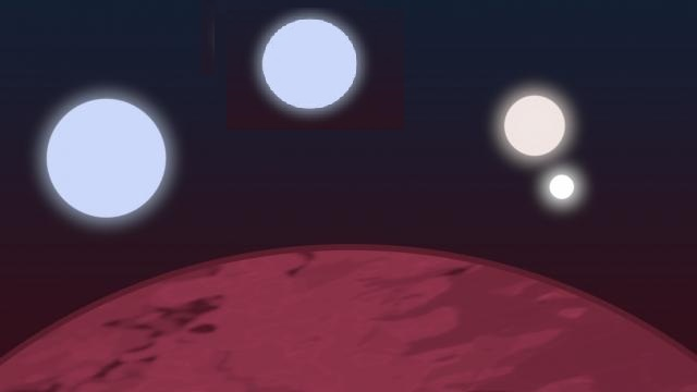 Spazio: un pianeta con 4 stelle nella Costellazione dell'Ariete