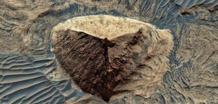 Marte: una foto del MRO fa discutere il web