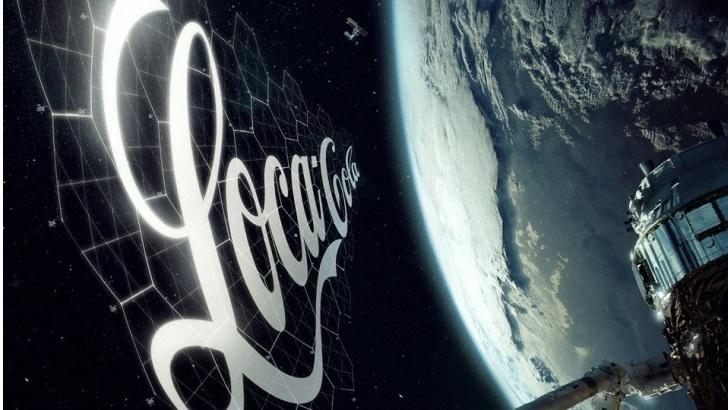 Pubblicità nello spazio: nel 2020 le prime sperimentazioni