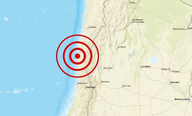 Terremoto Cile: forte scossa di 6.7 gradi