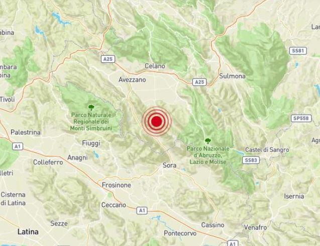 Scossa di terremoto M 4.2 in Abruzzo, centinaia di segnalazioni