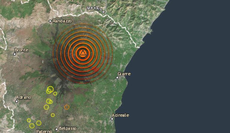 Paura terremoto in Sicilia: scossa di magnitudo 4.1 avvertita dalla popolazione