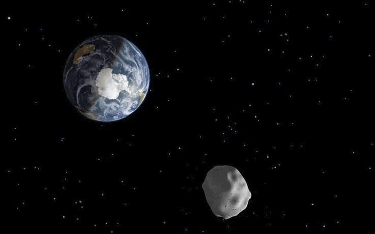 Spazio: l'incredibile orbita dell'asteroide 2019 AQ3