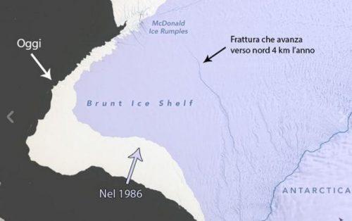 Antartide, enorme iceberg minaccia di staccarsi: grande due volte New York