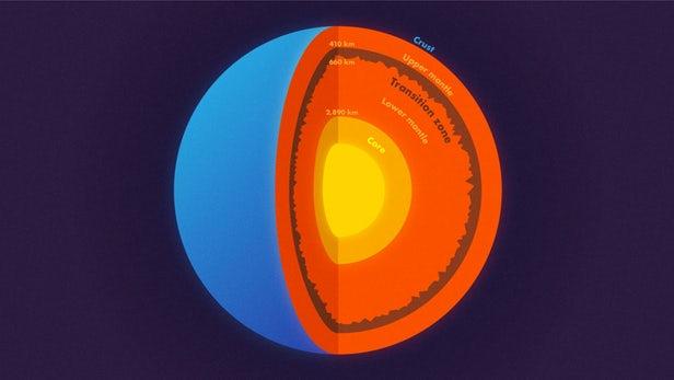 Terra: scoperte colossali montagne sotterranee