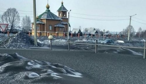 Siberia: neve nera ricopre la regione del Kuzbass