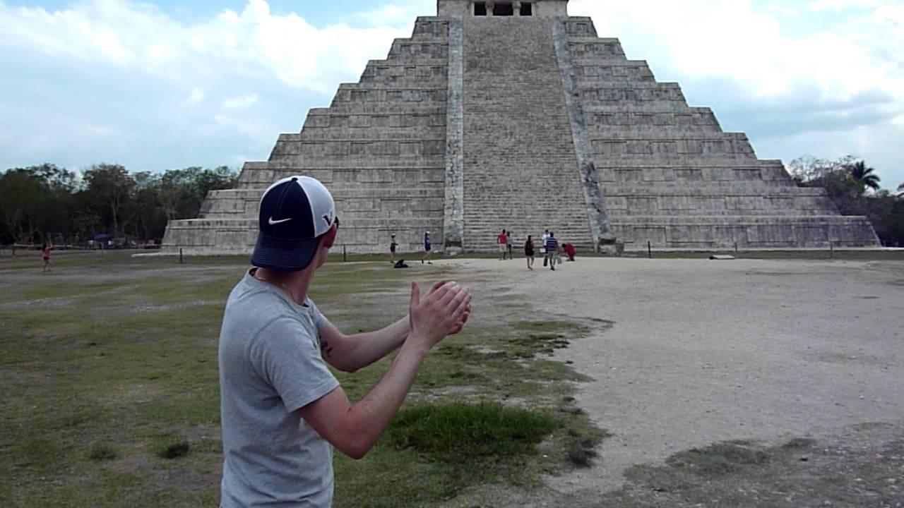 Il misterioso 'suono' della piramide dei Maya: il video