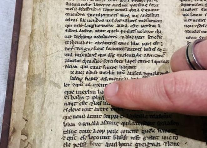 Scoperto manoscritto con discorso di Merlino ai soldati di Re Artù