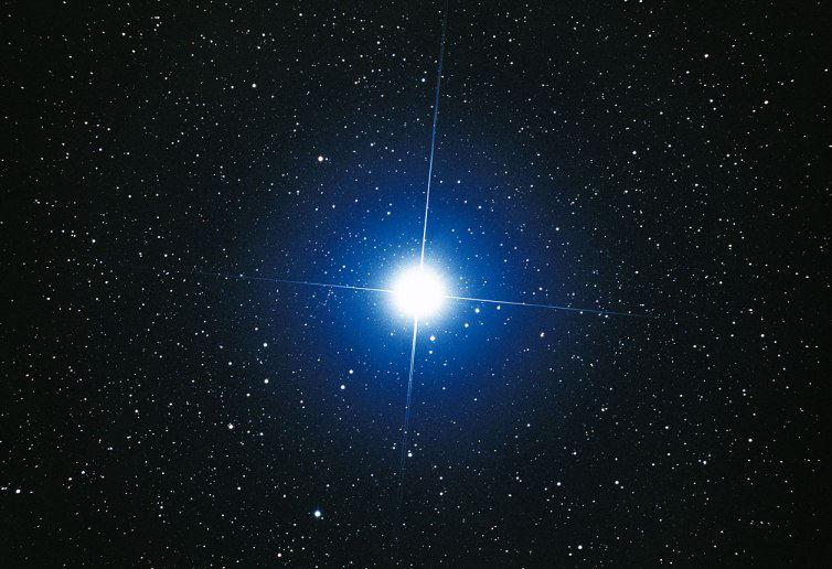 Sirio, la stella più luminosa del cielo, sarà occultata