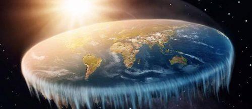 Spazio: sarebbe possibile vivere sulla Terra piatta?