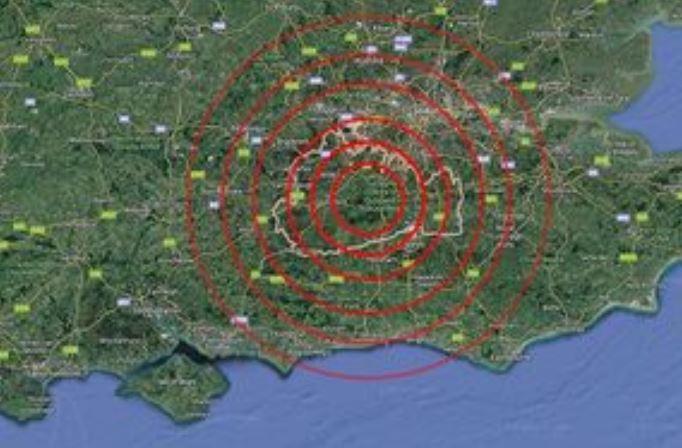 Raro terremoto a Londra: scossa M 3.3 avvertita anche in aeroporto