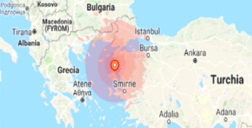 Terremoto Turchia: forte scossa nell'ovest del paese