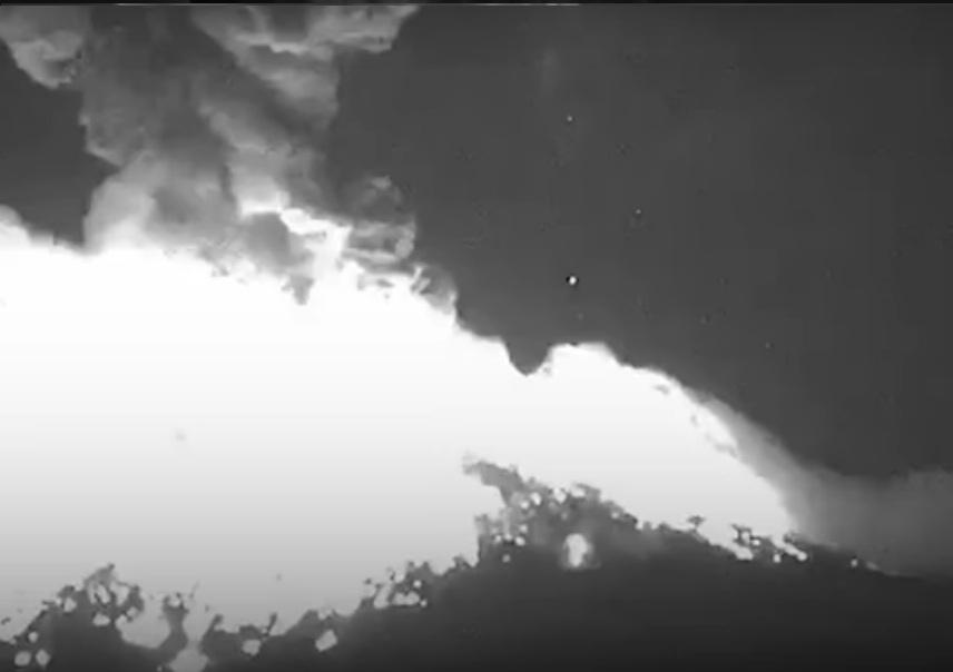 Messico: potente eruzione del vulcano Popocatepetl