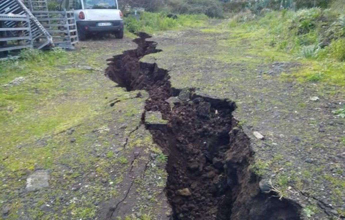 Etna: terremoto più violento degli ultimi 70 anni. Rilevate enormi deformazioni